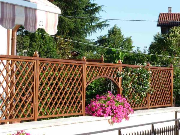 Frangivento in legno su misura | Romax Casette Vicenza