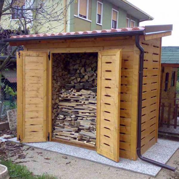 Legnaie e Ripostigli in legno