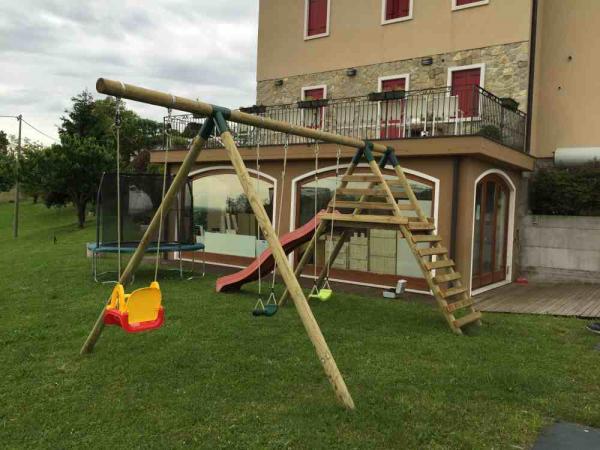 Altalena in legno | Romax Casette Vicenza